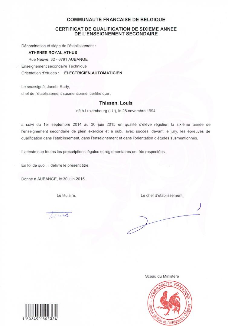 louis - cv